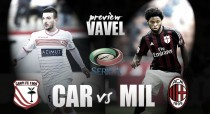 Carpi - AC Milan Preview: Both clubs seeking consecutive wins