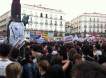 #Acampadas. A España le suena el despertador