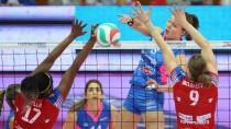 Volley F, Playoff Serie A1: Bergamo batte 3-1 Piacenza. Domenica la decisiva gara 3