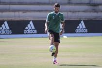 """Piccini: """"Estoy entrenándome para estar a tope y hacer una buena pretemporada con el Betis"""""""