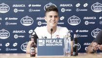 """Óscar 'Pinchi': """"Quiero subir lo antes posible al primer equipo"""""""