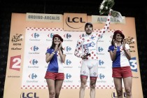 """Thibaut Pinot: """"Estoy decepcionado porque mi objetivo era ganar la etapa"""""""