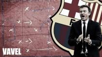 La pizarra de Luis Enrique: poderío arriba, empezando por atrás