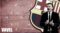 La pizarra: volvió el Barça
