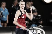 Australian Open: Karolina Pliskova dashes past Daria Gavrilova to reach a second Grand Slam quarterfinal