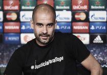 """Pep Guardiola: """"No tiene sentido saltar al campo si no crees que vas a remontar"""""""