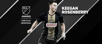Keegan Rosenberry, MLS Jugador Más Limpio 2016