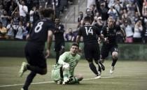 Sporting Kansas City gana por insistencia