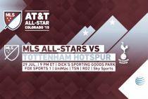Tottenham Hotspurs, rival para el AT&T MLS All Stars
