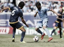 David Villa mantiene líder a New York City