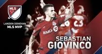 Sebastian Giovinco, Landon Donovan MLS MVP 2015