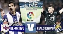 Resumen Deportivo 5-1 Real Sociedad en La Liga 2016