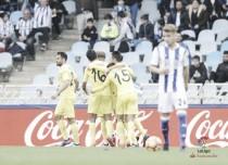 La Real Sociedad choca contra el muro amarillo