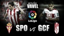 Previa Sporting de Gijón - Granada CF: vencer o morir