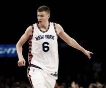 Porzingis e Carmelo jogam bem, Knicks se recupera e vence Mavericks