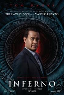 Llega el nuevo póster de la tercera aventura de las novelas de Dan Brown: 'Inferno'