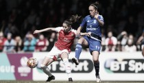 Jo Potter impressed by Birmingham City Ladies' performance away at Arsenal Ladies