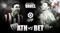 Previa Athletic Club - Real Betis: la tranquilidad en juego