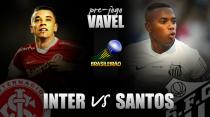 Buscando sair da 'zona da confusão', Inter e Santos se enfrentam no Beira-Rio
