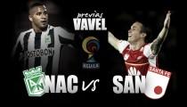 Previa Atlético Nacional - Santa fe: Duelo de viejos conocidos