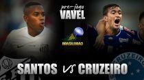 Santos e Cruzeiro medem forças na Vila Belmiro em busca da primeira vitória no Brasileirão