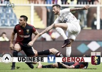 Udinese - Con il Genoa massima concentrazione e voglia di continuare a far bene