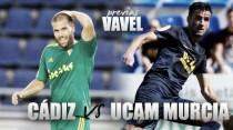 """Previa Cádiz CF - UCAM Murcia: dos viejos conocidos en un """"nuevo territorio"""""""