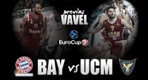 Bayern Múnich - UCAM Murcia: los universitarios tratarán de dar una lección en Múnich