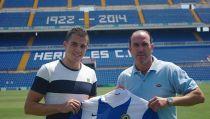 """Carlos Lázaro: """"Quiero volver al nivel profesional con el Hércules"""""""