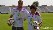 Dos primeras presentaciones en el Real Jaén