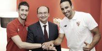 """Escudero: """"Es una alegría que te llame un grande de Europa como el Sevilla"""""""