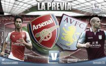 Arsenal - Aston Villa: gran desigualdad