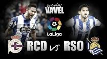 Previa Deportivo de la Coruña - Real Sociedad: partido para seguir creciendo