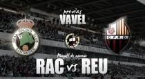 Racing de Santander - Reus Deportiu: el primer gran paso