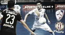 Santiago Futsal - Catgas Santa Coloma: noche de despedidas en Sar