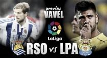 Previa Real Sociedad - Las Palmas: en búsqueda de la primera victoria en Anoeta ante una 'bestia negra'