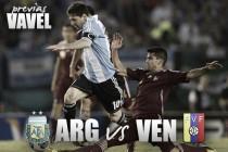 Previa Argentina - Venezuela: David contra Golliat