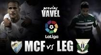 Previa Málaga CF - CD Leganés: Solo cabe la victoria