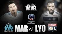 Previa Marsella - Lyon: choque de altos vuelos en la Coupe de France