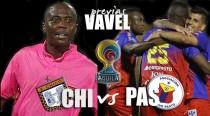 Previa: Deportivo Pasto visita a Boyacá Chicó en Tunja