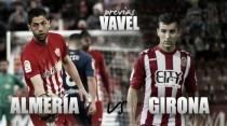 Previ Almería - Girona: suma y sigue