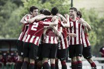 Bilbao Athletic - Villanovense: primer match ball
