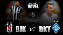 Previa Besiktas - Dinamo de Kyev: duelo de aspirantes