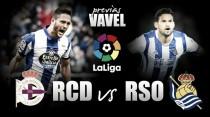 Previa Deportivo - Real Sociedad: Primera final de la temporada