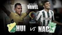 Atlético Huila - Atlético Nacional: Por la clasificación anticipada