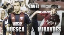 Previa SD Huesca - CD Mirandés: a volver a la senda de la victoria