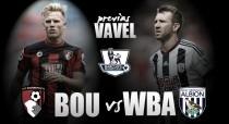 Bournemouth - West Brom: mejorar los objetivos