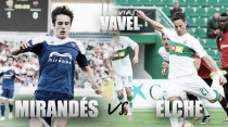 Previa CD Mirandés- Elche CF: Ganar con objetivos diferentes
