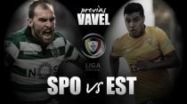 Previa Sporting de Portugal - Estoril: tiempo de recuperación
