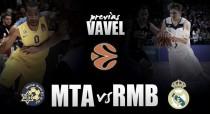 Maccabi Tel Aviv - Real Madrid: prolongar la racha en terreno complicado